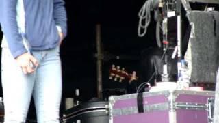 Thom Yorke backstage @ Latitude 2009