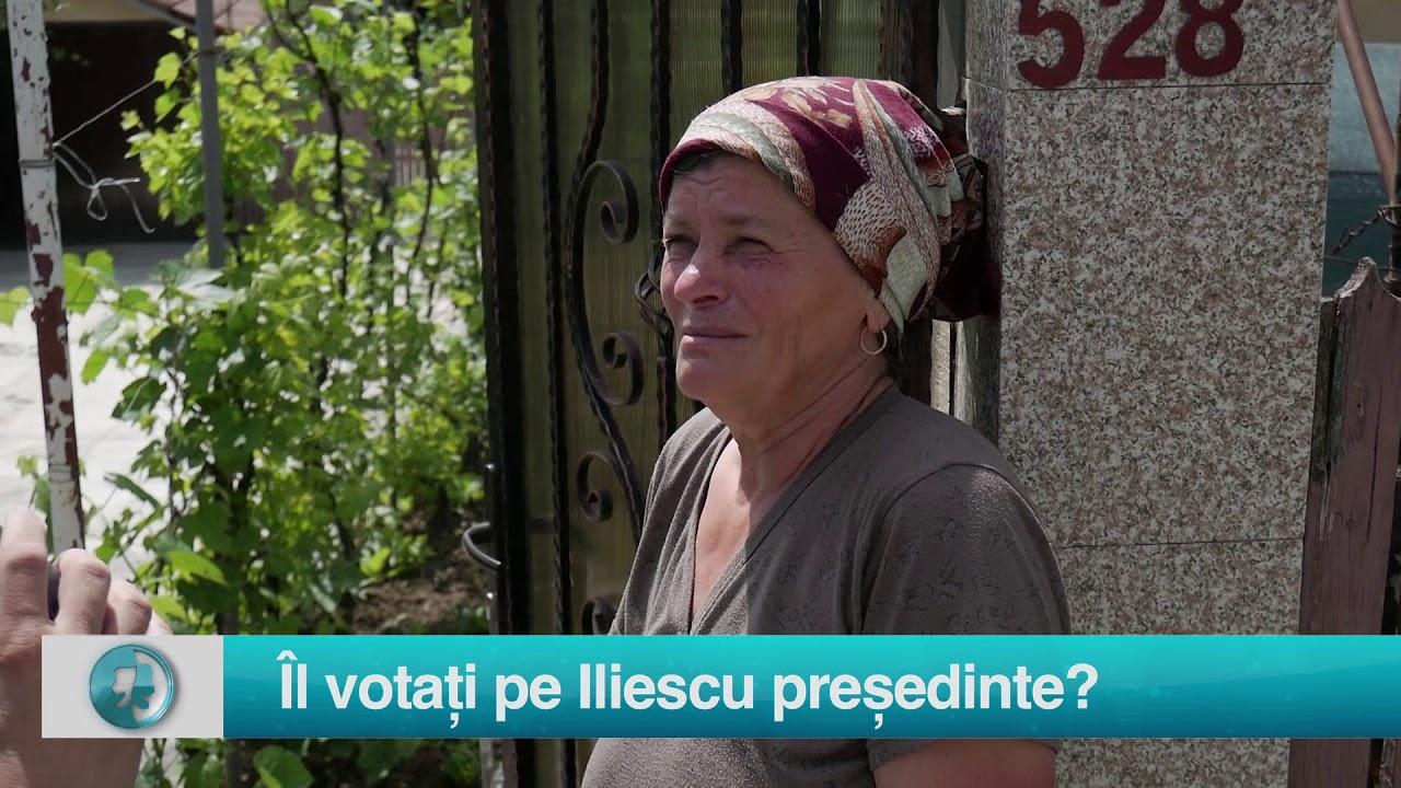 Starea Natiei: Îl votați pe Iliescu prețedinte?