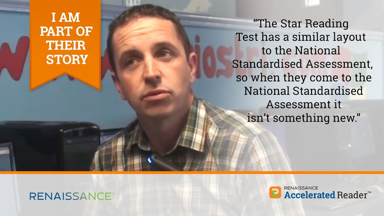 What is the Accelerated Reader STAR reading test?