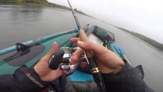 Два часа на рыбалке , На реке Томь ...