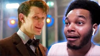 "GOODBYE MY SWEET PRINCE Doctor Who ""Time of the Doctor"" REACTION!"