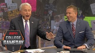 Lee Corso 'Head Gear Pick': Alabama Crimson Tide vs. LSU Tigers and more | College GameDay