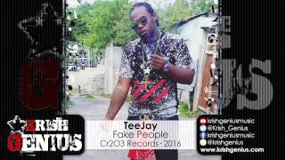 TeeJay - Fake People [The Champ Riddim] April 2016