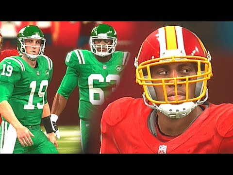 cheap for discount ac060 35290 Madden 20 HYPE Dwayne Haskins Highlights New York Jets vs Washington  Redskins Color Rush Ep 1