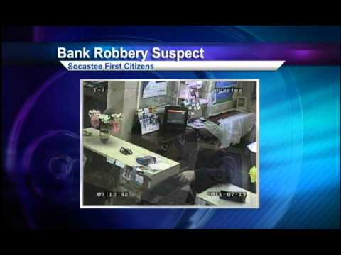 Bank robberies increase in Horry County