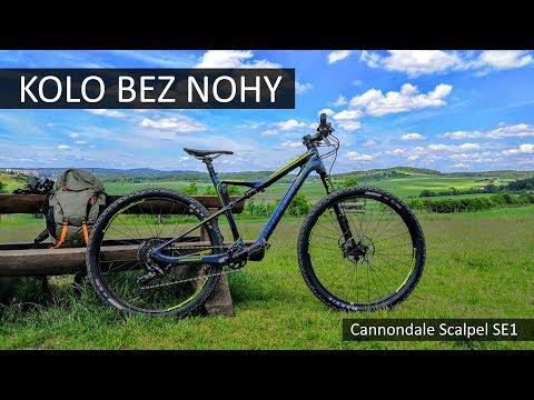 To kolo nemá jednu nohu! :-) Jaký je Cannondale Scalpel SE1 s vidlicí Lefty