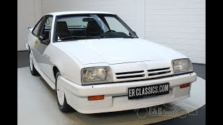 Opel Manta 2.0 GSI 1988 54.319 km Unique -VIDEO- www.ERclassics.com