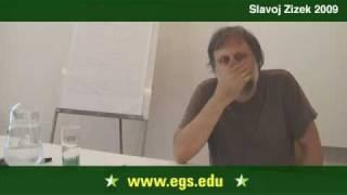 Slavoj Žižek. The Return To Hegel. 2009 14/16