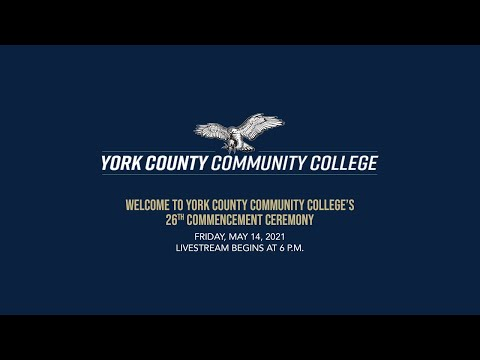 York County Community College Commencement