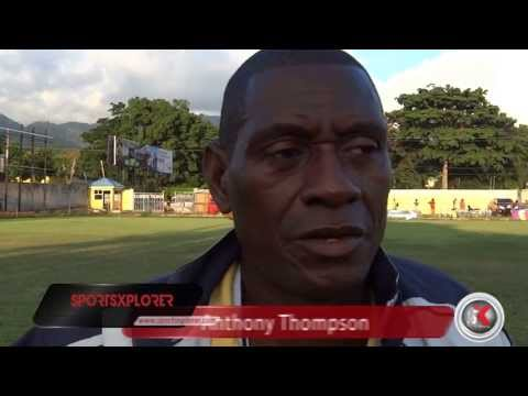 """We have to learn to play without key players"" - Anthony Thompson (Spanish Town coach) - Walker Cup"