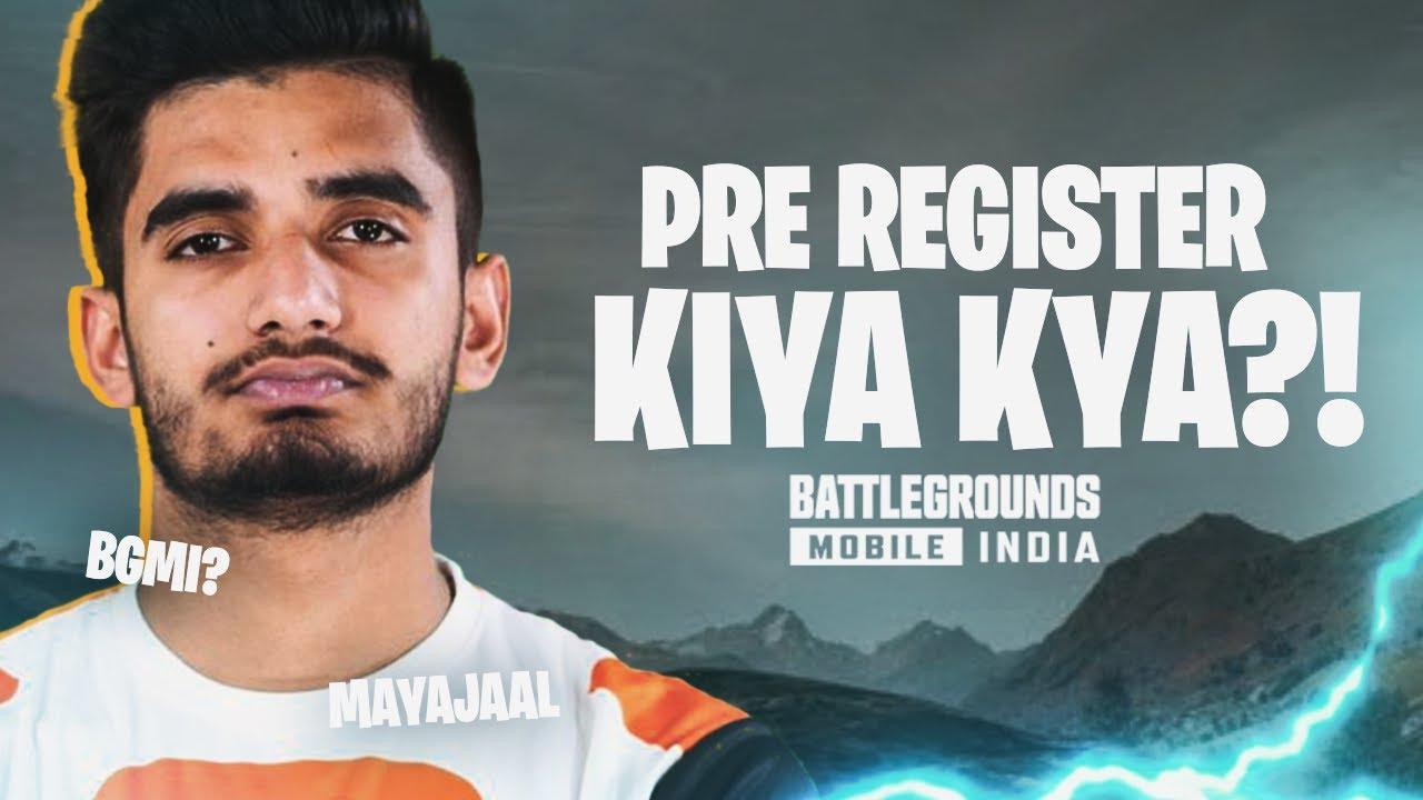 MAYAJAAL IS BACK?! - PRE REGISTER KIYA KYA? | Battlegrounds Mobile India