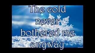 Let It Go Idina Menzel - Frozen lyrics.mp3