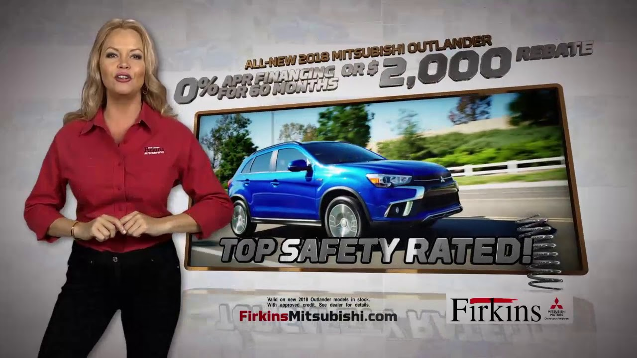 Firkins Mitsubishi is Spring Loaded YouTube