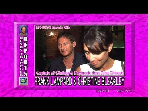Chelsea Star FRANK LAMPARD and CHRISTINE BLEAKLEY Daybreak Host EXCLUSIVE!