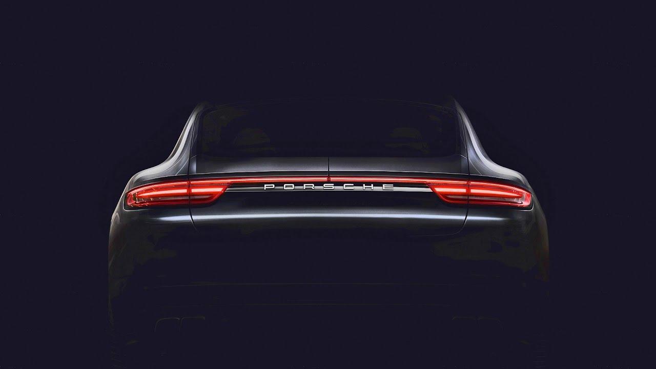 2017 Porsche Panamera Teaser Youtube