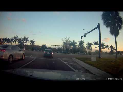 Car Collision In Pompano Beach Florida