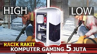 #18-Rakit PC GAMING 5juta seting HIGH [The Witcher 3, GTA V,Tomba raider rise]