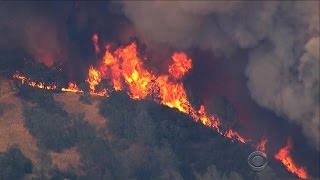 California wildfire challenging firefighters