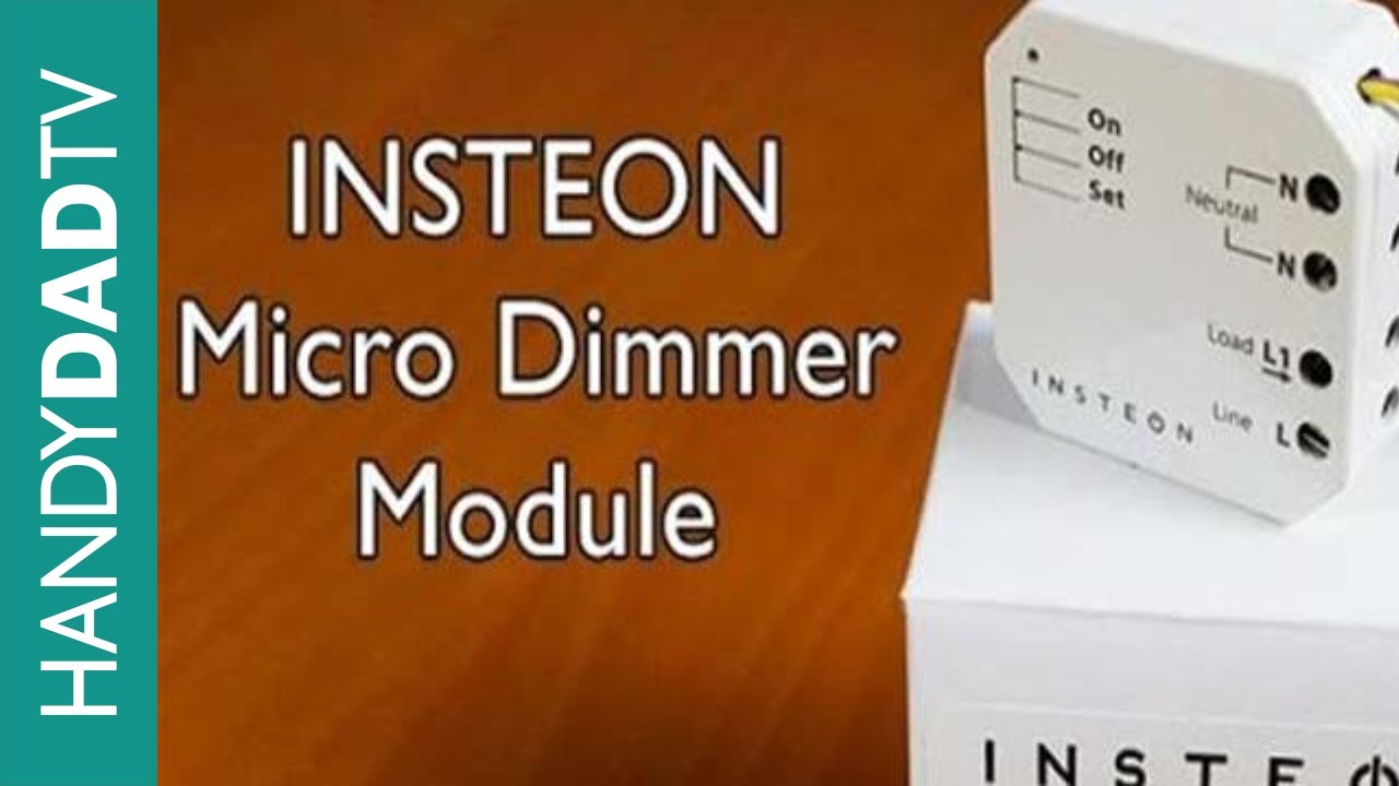 insteon micro dimmer module instant insteon ep 3 [ 1280 x 720 Pixel ]