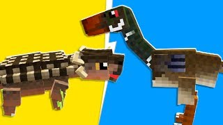Minecraft - The ULTIMATE Dinosaur Battle In Jurassicraft Dinos | JeromeASF