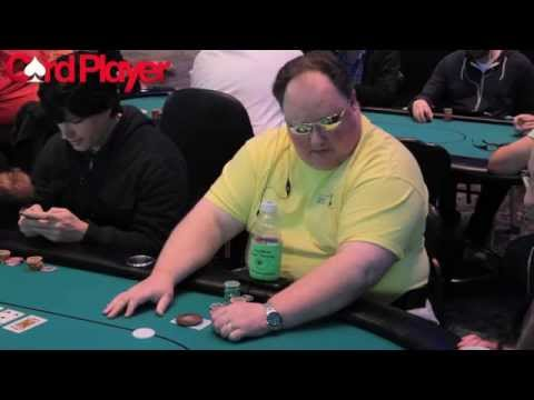 Card Player Poker Tour Foxwoods: Greg Raymer On Day 1