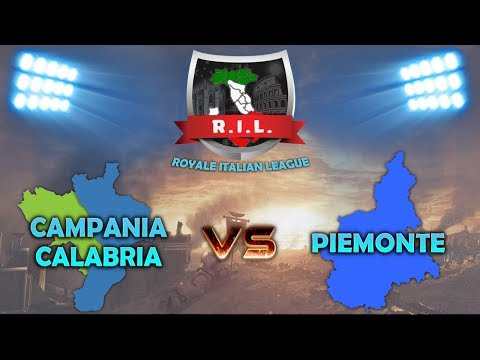 CAMPANIA-CALABRIA vs PIEMONTE | ROYALE ITALIAN LEAGUE | first season