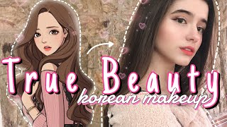 Maquiagem da Jugyeong de True Beauty || Korean ulzzang inspired makeup