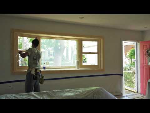 Old Sliding Windows to New Bay Window - Babylon, NY