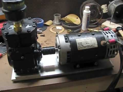 Diy 12v Air Compressor Youtube