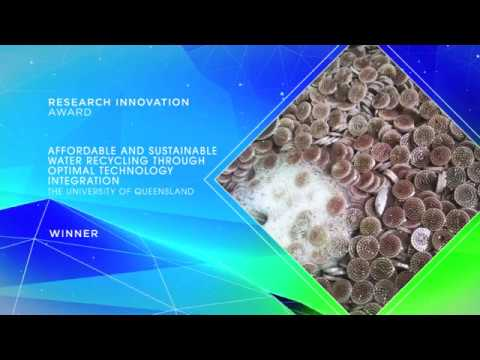 QLD Water Awards 2016 - Research Innovation Award Winner: The University of Queensland