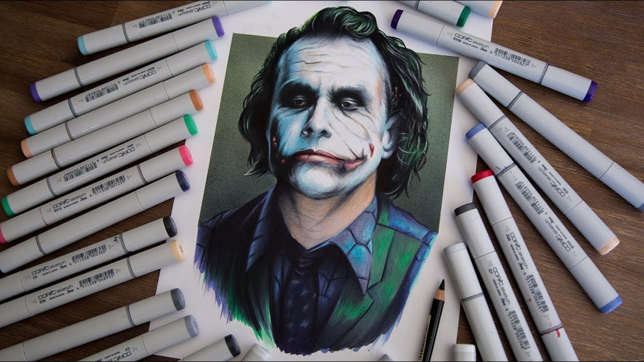 Drawing the joker