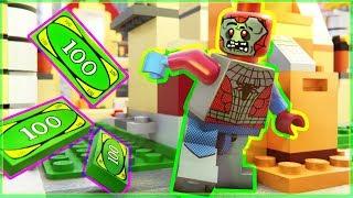 LEGO Zombie Spider Man: Money Fail
