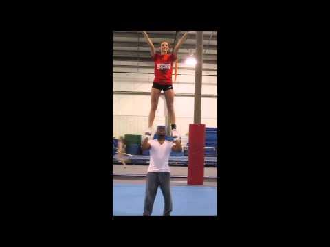 UW Madison Cheer Tryout Video! - Taylor Larsen