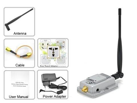 Amplificador de se al wifi youtube for Amplificadores de wifi potentes