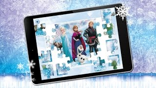Disney Puzzles App Frozen - Learning Game for kids Toddlers
