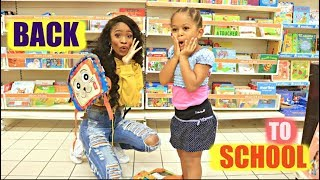 ACHATS FOURNITURES SCOLAIRES 2018 POUR SA 1ERE RENTREE A LA MATERNELLE - VLOG BACK TO SCHOOL