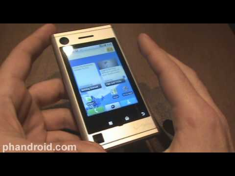 Motorola Devour Software: Android 1.6 and MOTOBLUR