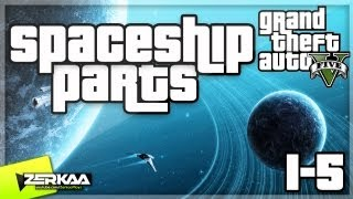 """GTA V Spaceship Parts (1-5) """"From Beyond The Stars"""" Achievement Guide (GTA 5)"""