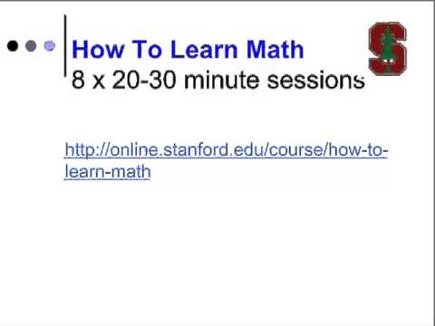 Mind for Math - Mindset and Math Without Anxiety - Jo Boaler