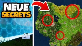 3 * NUEVOS * SECRETOS encontrados por KOMET EINSCHLAG! - Fortnite Battle Royale (Español)