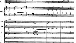 Arvo Part - Collage sur BACH for Chamber Orchestra (1964) [Score-Video]