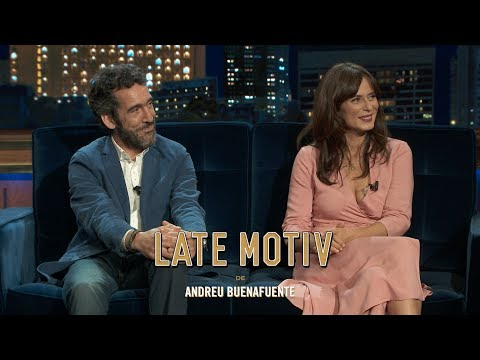 LATE MOTIV  Aitana Sánchez Gijón y Miguel Lago.