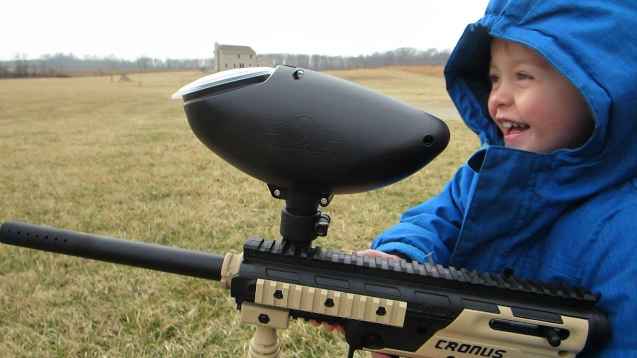 paintball guns for kids