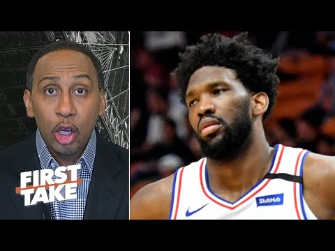 Stephen A.: There's no excuse for a Joel Embiid-Ben Simmons team not to be a top-2 seed | First Take