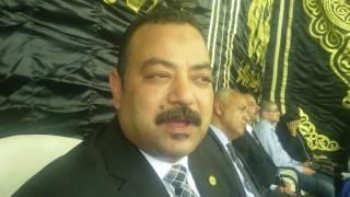 بالفيديو.. على عبد الونيس: الراحل سيد فراج أوصانا على مصر حتى آخر نفس فى حياته
