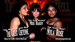 The Beast of Hell Theme (The Great Cheyenne and Nyla Rose)