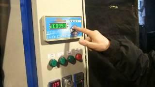 Налаштування блоку управління напівавтомата