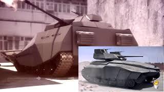 Гибридный танк будущего