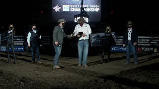 2020 PBR Canada Bull of the Year - Catch My Drift - Presentation with Alberta Premier Jason Kenny