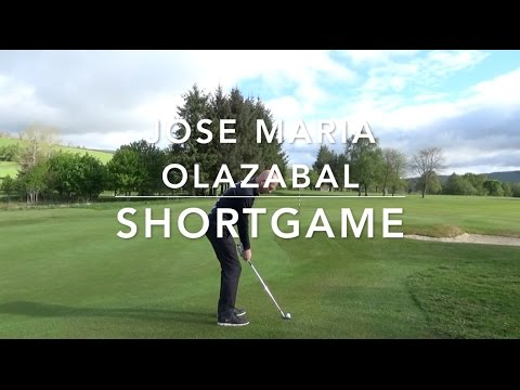 Get your wedges to check : Short game like Jose Maria Olazabal